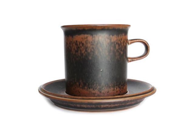 ARABIA ルスカ            コーヒーC & S(Lサイズ) CS2
