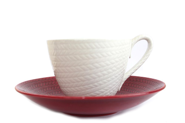 Rorstrand Bla Eld          ブラ・エルド / コーヒーC&S(レッド1)