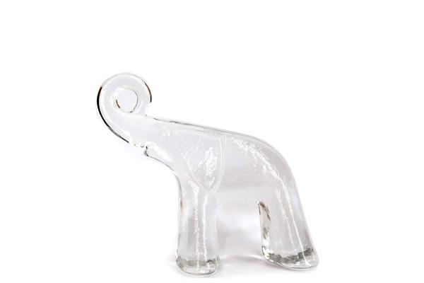 Kosta Boda            ガラスの象  S