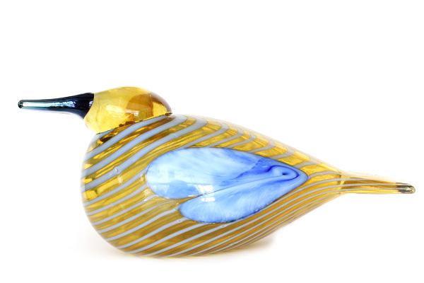 Oiva Toikka           Sinisotka/Blue Scaup Duck 2004