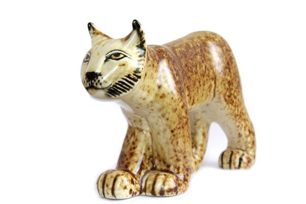 Utrotningshotade Djur           WWF Lodjur ヤマネコ
