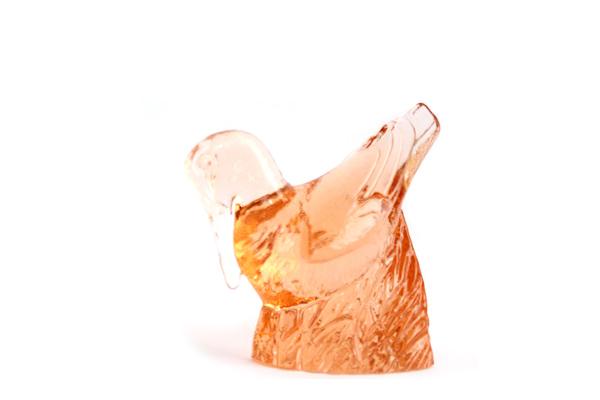 Kosta Boda           ガラスの小鳥 / WWF モデル