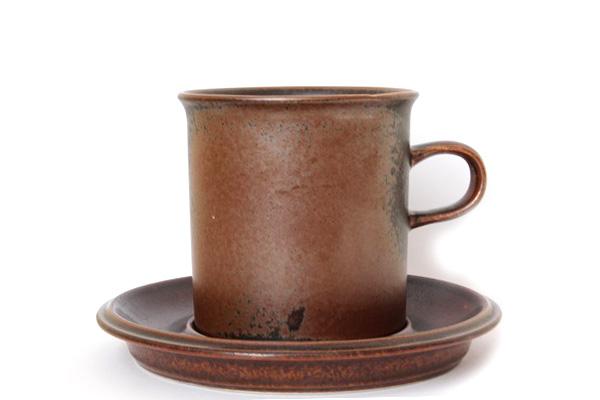 ARABIA ルスカ            コーヒーカップ& ソーサー(Lサイズ) CC1