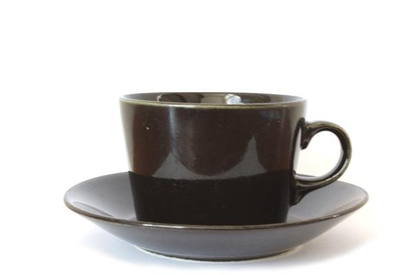 ARABIA Kilta            コーヒーカップ&ソーサー/150 ml ブラック1