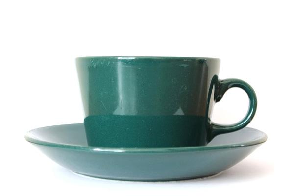 ARABIA TEEMA            コーヒーカップ&ソーサー/220 ml グリーン2