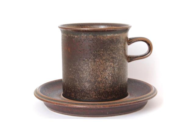 ARABIA ルスカ            コーヒーカップ& ソーサー(Lサイズ) CC3