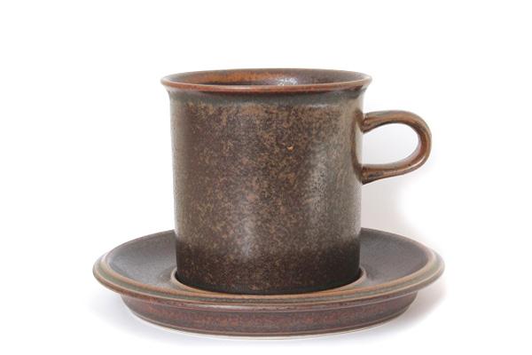 ARABIA ルスカ            コーヒーカップ& ソーサー(Lサイズ) CC4