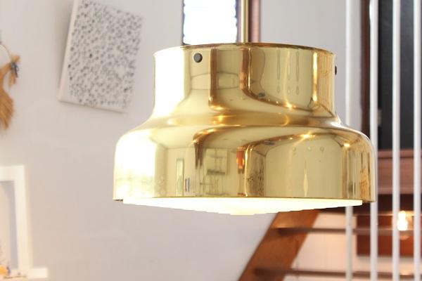 ATELJE LYKTAN                     Bumlig ブームリング40cm/ Brass Gold
