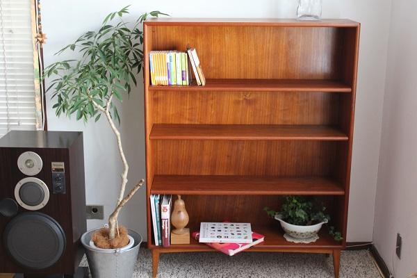 Book shelf ブックシェルフ      デンマーク 1960's(送料ランクC)