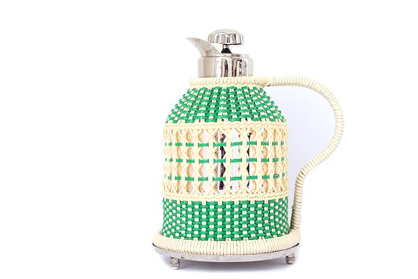 北欧ヴィンテージ           JUNE サーモス魔法瓶/ グリーン ネット