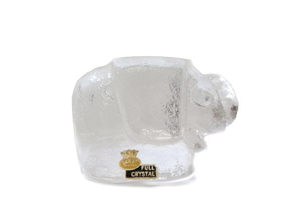 SKRUF/スクルーフ         ガラスの動物(エレファント)