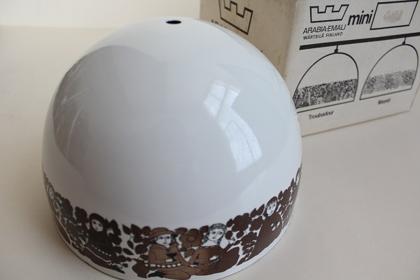 FINEL/Fog&Morup               琺瑯ランプ 21cm(ホワイト)