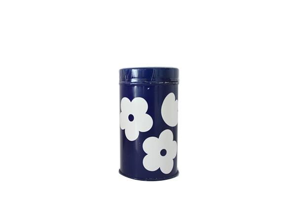 aarikka アーリッカ            スパイス缶/ 花柄ブルー