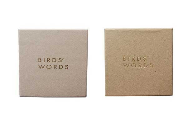 BIRDS' WORDS           ギフトボックス