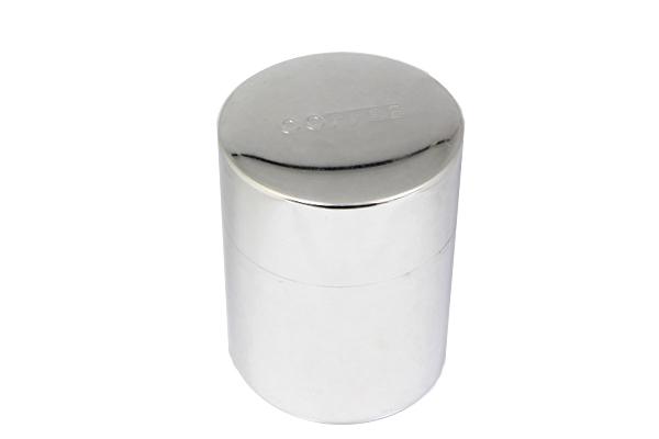 ブリキのコーヒー 缶(H14cm)