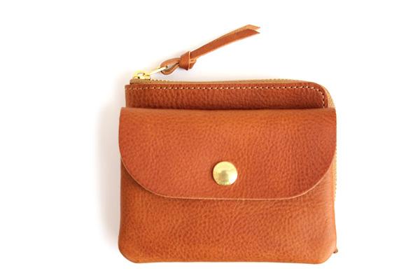 CINQ サンク              小さめの財布(キャメル)