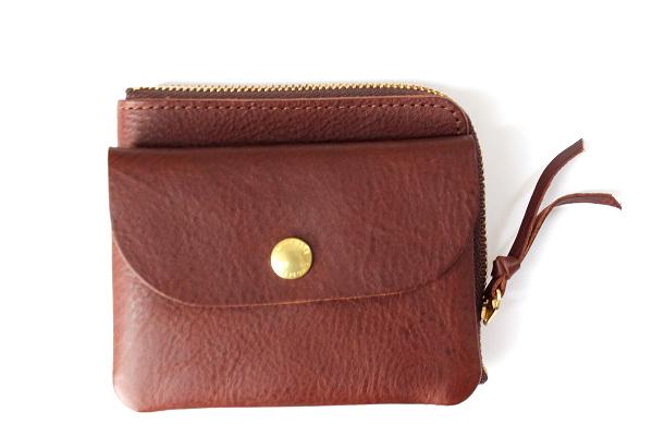CINQ サンク              小さめの財布(ダークブラウン)