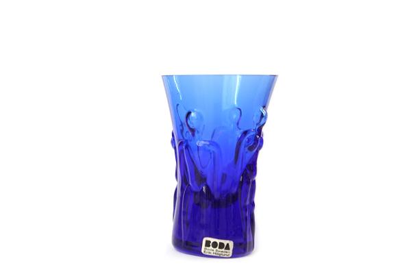 Erik Hoglund            ミニグラス / H 8.5cm(ブルー)