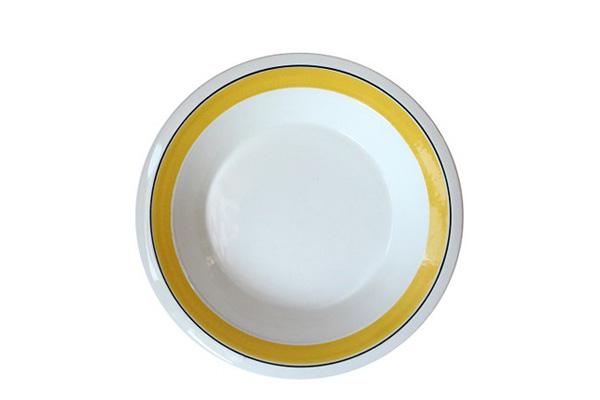 ARABIA Faenza            スーププレート20cm(イエローA1)
