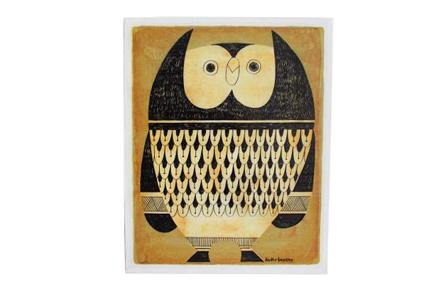 FLIP イラストレーション      Owl フクロウ / L size