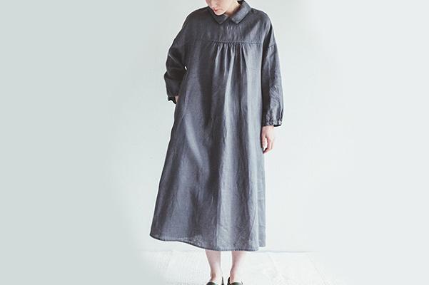 fog linen work       ペイトン ワンピース / アシエ