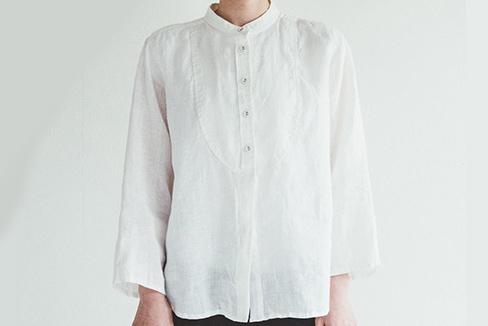 fog linen work       セレニティー シャツ / ホワイト