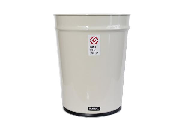BUNBUKU           ゴミ箱 / ホワイト 大