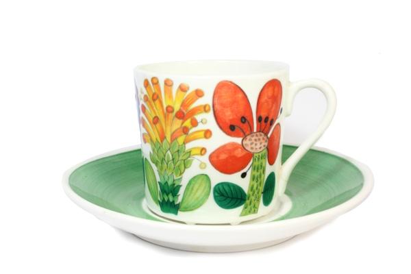 TAHITI                コーヒーカップ&ソーサー