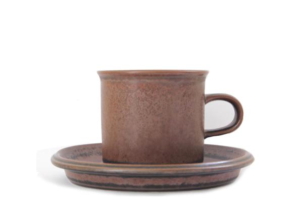 ARABIA ルスカ            コーヒーカップ&ソーサー/ mini 1