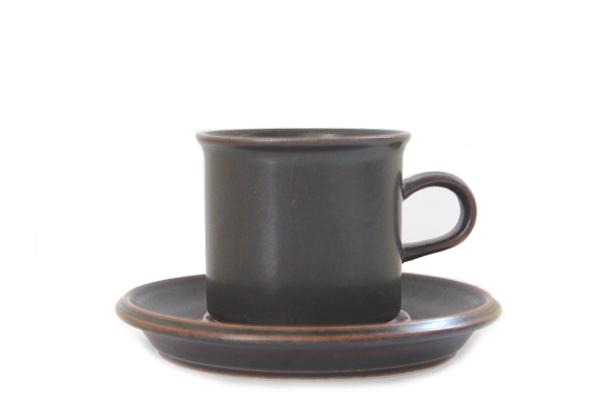 ARABIA ルスカ            コーヒーカップ&ソーサー/ mini 4