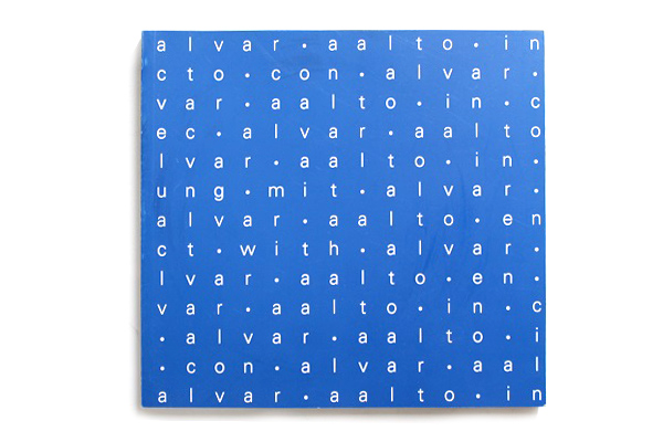 Alvar Aalto            展示会カタログ/1998年