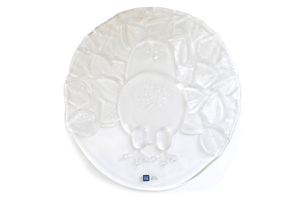 ARABIA FinnCrystal           OWL / デコレーションプレート