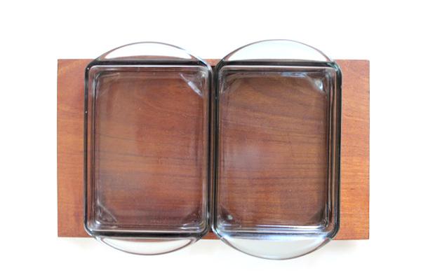 北欧ビンテージ トレイ&ガラス容器       KJENI チェニ