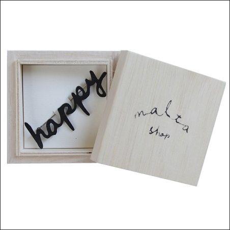 maltashop            ブローチ/ happy