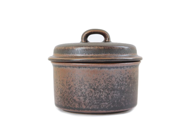 ARABIA ルスカ            シュガーカップ(蓋つき)