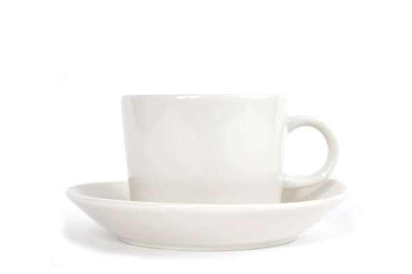 ARABIA TEEMA           コーヒー C & Sホワイト/ No.1