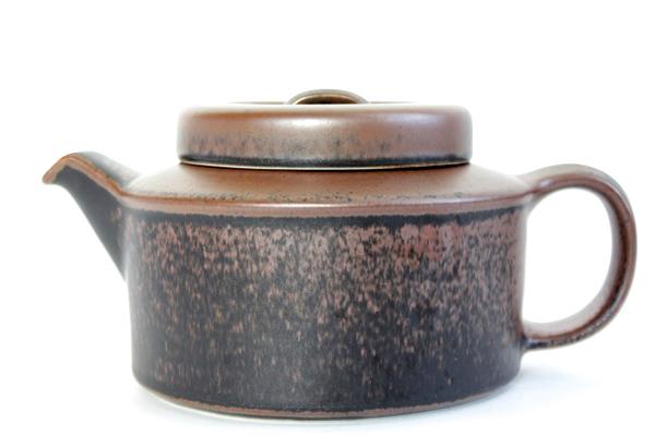 ARABIA ルスカ            ティーポット(茶漉し付き)