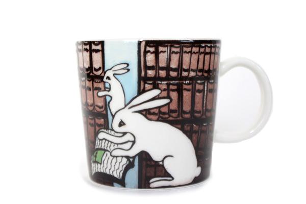 ARABIA Bunny mug          うさぎマグ/Library for SSKK