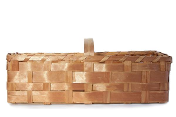 北欧ビンテージ バスケット    モミの木バスケット ML / スウェーデン