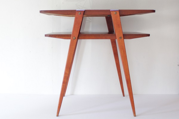 Side Table サイドテーブル     スウェーデン 1960~70's(プラス送料2500円税込)
