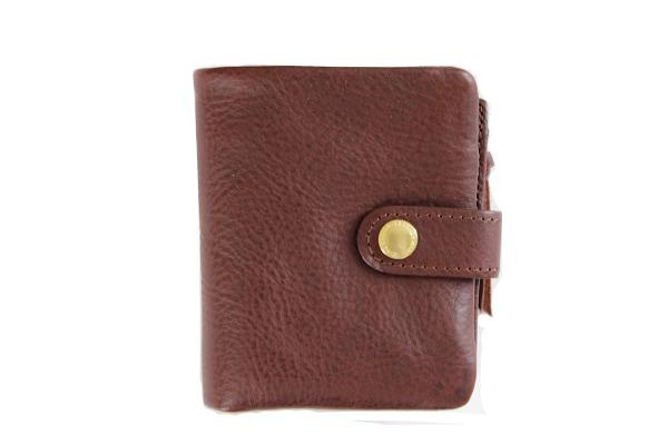 CINQ サンク              2つ折り財布(ダークブラウン)