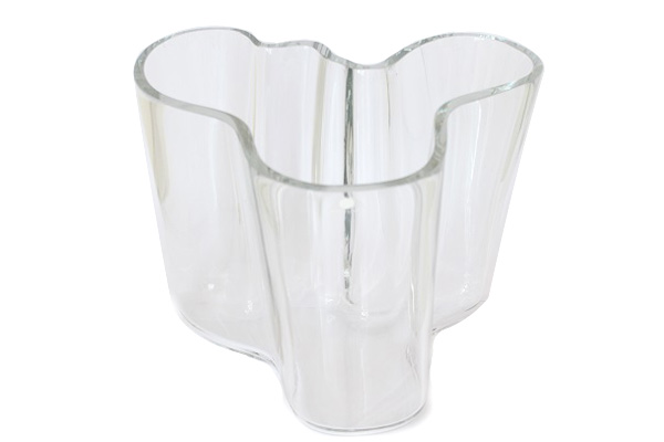iittala イッタラ           Alvar Aalto / Vase 3030 H16cm(クリアー)