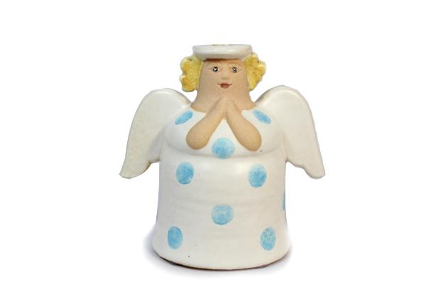 天使キャンドルホルダー/ホワイト2