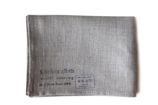 キッチンクロス ナチュラル / fog linen work