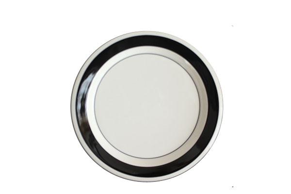 ARABIA Faenza            20cmプレート (ブラック1)