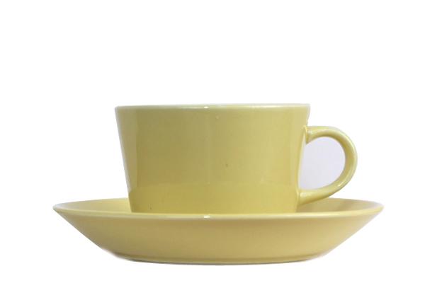 ARABIA Kilta            コーヒーカップ&ソーサー/150 ml イエローCS1