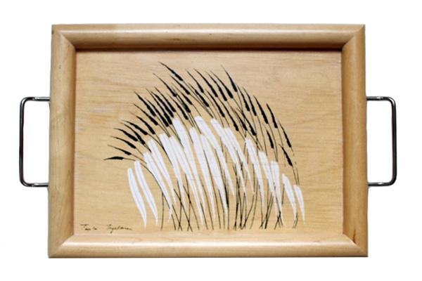 aarikka アーリッカ          ウッドトレイ / 木製