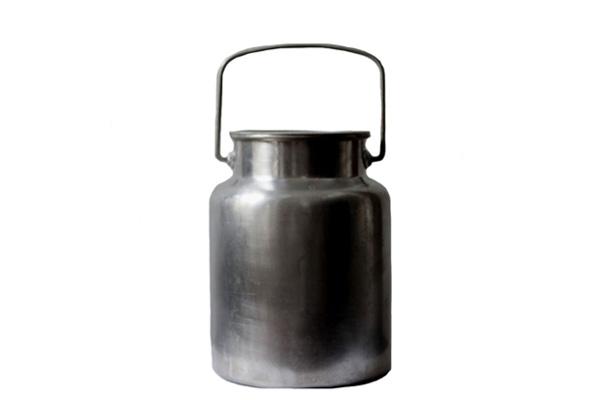北欧ヴィンテージ・古道具          ALU / ミルク缶 3L(フィンランド製) M1