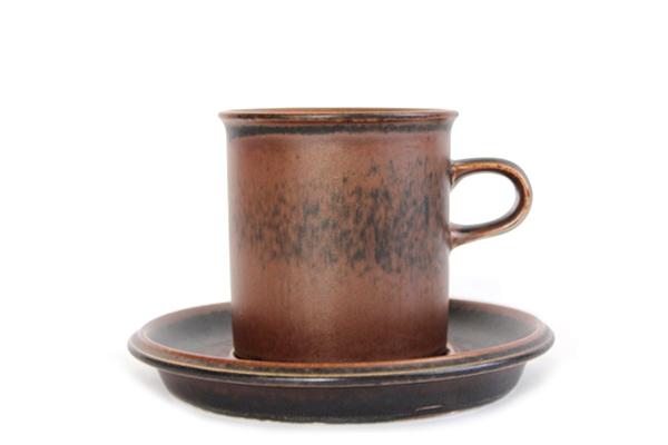 ARABIA ルスカ            コーヒーカップ&ソーサー160ml/CC2