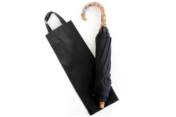 CINQ / サンク      折りたたみ傘 / 晴雨兼用 (ブラック)